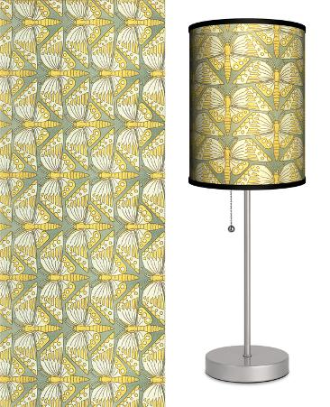 Deco Moths - Table Lamp