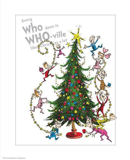 Christmas Images To Print.Christmas In Whoville