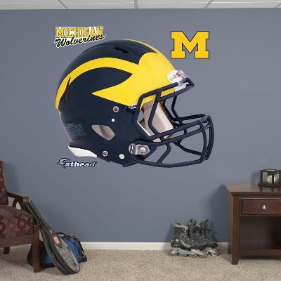 Michigan Wolverines Helmet