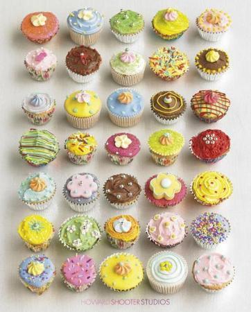 Howard Shooter Cupcakes