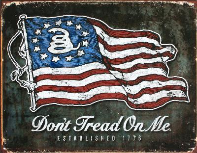Don't Tread On Me - American Flag