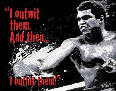 Muhammad Ali - Outwit then Outhit