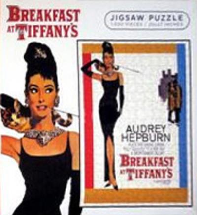 Breakfast at Tiffany's Movie Score 1000 Piece Jigsaw Puzzle