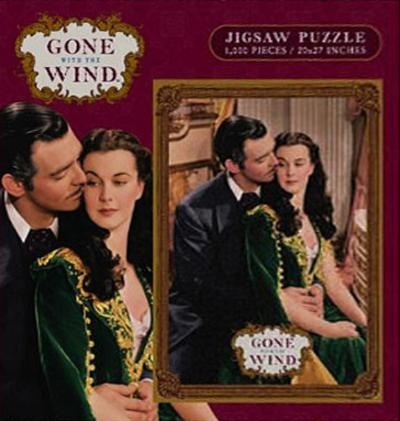 Gone With the Wind Movie Embrace 1000 Piece Jigsaw Puzzle