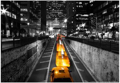 Taxi Timelapse NYC