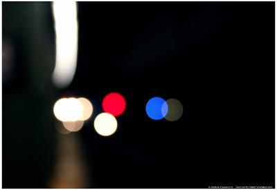 Subway Lights New York City