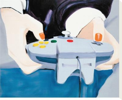 Point of View (Mai with Nintendo controller)