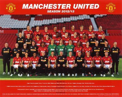 Manchester United 2012-13 Team