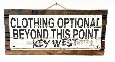 Clothing Optional Key West Vintage