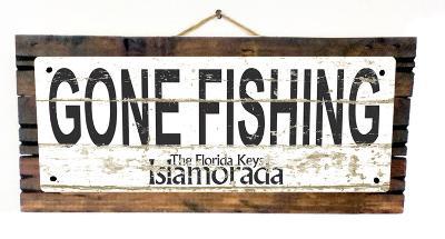 Gone Fishing Islamorada Vintage