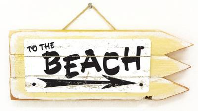 To The Beach Vintage