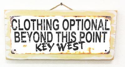 Clothing Optional Key West Rusted