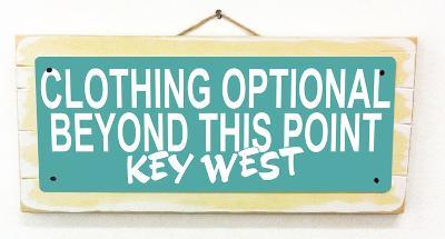 Clothing Optional Key West Teal