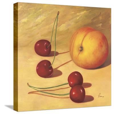Cherries And A Peach