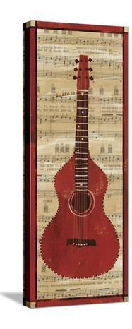 Red Check Guitar