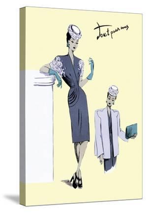 Classy Evening Wear, 1947
