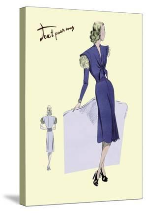 Dress Suit with Pleats, 1947