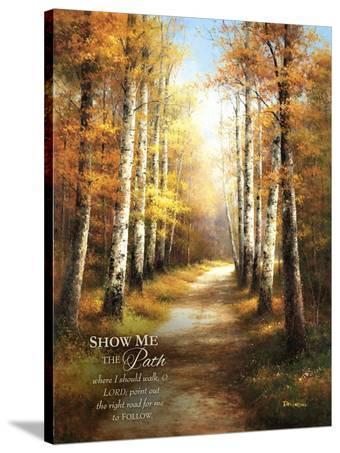 Birch Walk with Verse