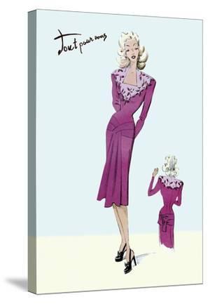 Flower Dress, 1947