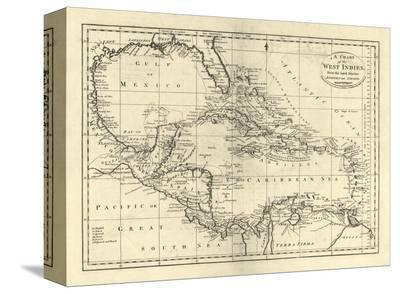 Chart of the West Indies, c.1795