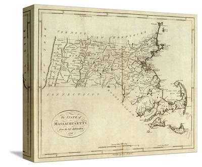 State of Massachusetts, c.1796