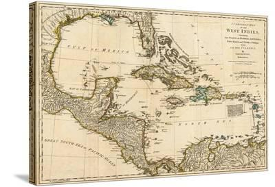 Complete Map of the West Indies, c.1776