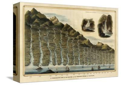 Length of the Rivers of Scotland, c.1832