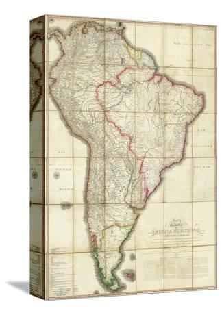 Mapa Geografico de America Meridional, c.1799