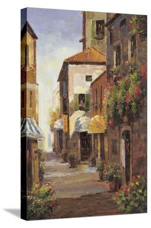 Flowered Alleyway