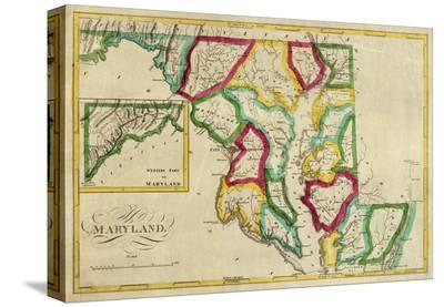 State of Maryland, c.1827