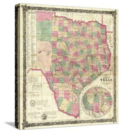 The State of Texas, c.1867