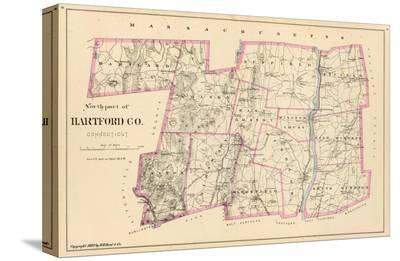 Connecticut: Hartford County North, c.1893