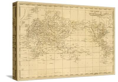 World Mercator's Projection, c.1812