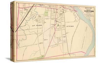 Connecticut: Hartford, South, c.1893