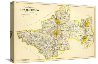 Connecticut: New Haven County North, c.1893