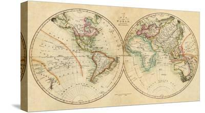 Map of the World, c.1820