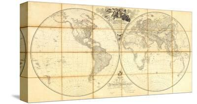 Map of the World, Researches of Capt. James Cook, c.1808