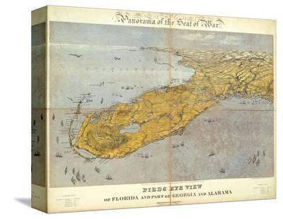 Florida and Part of Georgia and Alabama, c.1861