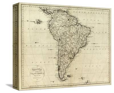 Map of South America, c.1796