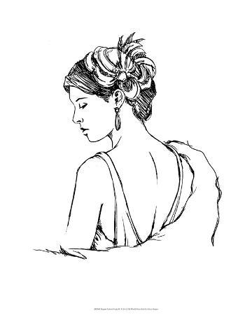 Elegant Fashion Study IV