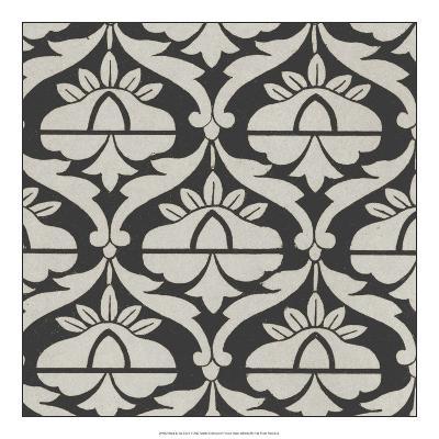 Black & Tan Tile II