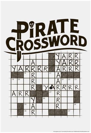 Pirate Crossword