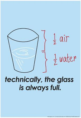 Glass is Always Full