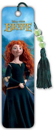 Brave - Merida Beaded Bookmark