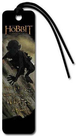 The Hobbit: An Unexpected Journey - Gollum Beaded Bookmark