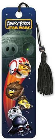 Angry Birds Star Wars - Death Pig Beaded Bookmark
