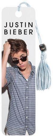 Justin Bieber - Shades Beaded Bookmark
