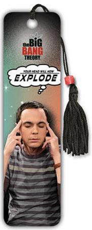 The Big Bang Theory - Explode Beaded Bookmark