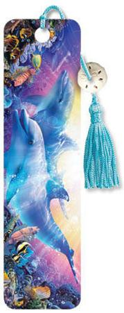 Christian Riese - Believe the Dream Beaded Bookmark