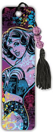 Wonder Woman Beaded Bookmark